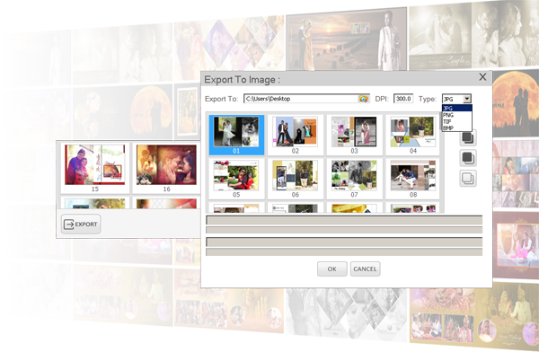Automatic Wedding Album Designing Software developing company. Picasso Album Designing Software By Satyam Film Karizma Photo Album Software, Digital Photo Album Making Software, PSD Templates, Photo Making Software, Single software solution for making professional album for Wedding, Pre-Wedding, Baby Shower, Birthday, Holidays, School and many more events. Create professional album, Simple Photo Books, Calendar, Invitation, Magazine, Brouchers, ID-Cards, Mug Print, T-shirts, Collage Making, Greeting Card, Banner, Gift Design, Passport Package, Visiting Card and many more... Auto Page Maker, Auto DM, Auto Indian Vidhi Album Maker, The power of endless creativity Wedding album designs in minutes with the help of ready template designs, thousands of layout combinations, inbuilt designing material like backgrounds, cliparts, ready titles, text Ready to use Album Sizes for renowned Labs. Supports Custom Album size creation for flexible designing. EDIUS X Pro, Wedding Services, Satyam Film